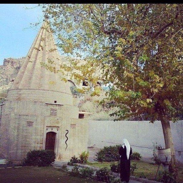 Yazidi temple Lalish