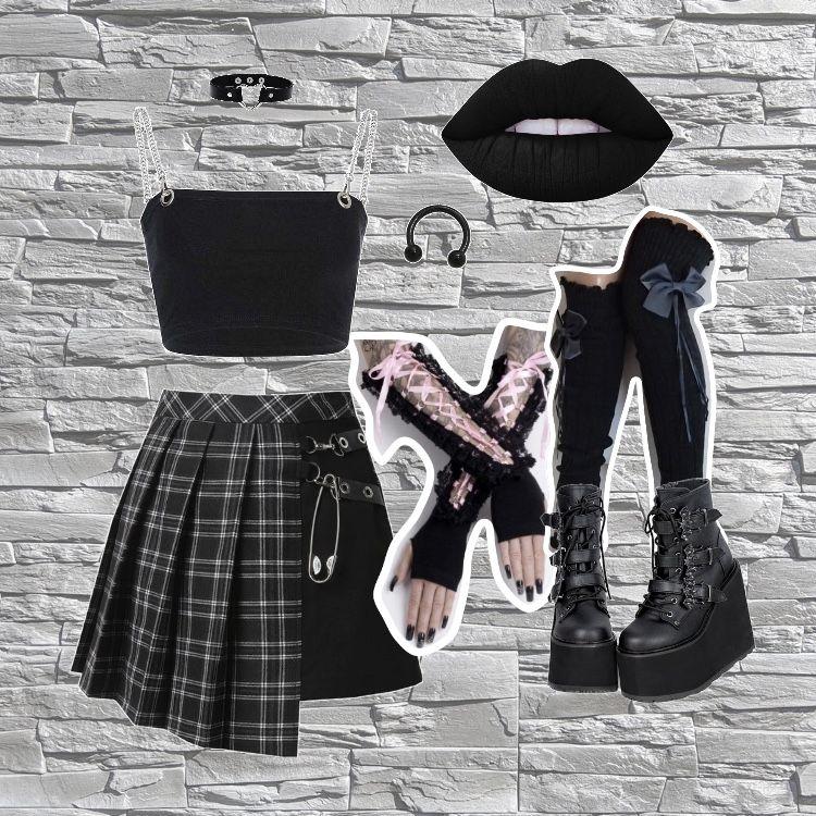 #alternative #goth #altgirl #altfashion #gothstyle #gothgirl #subculture #alternativegirl