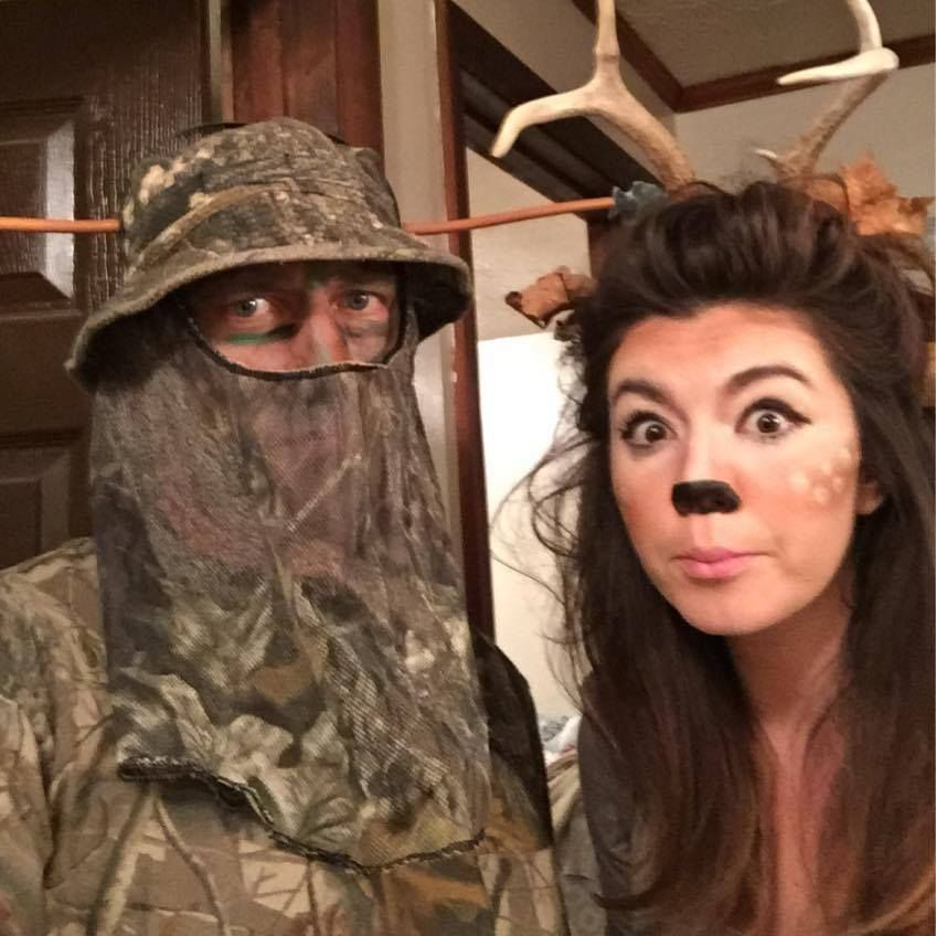 How to make your own deer and hunter costume on Simply Shay! | DIY ...