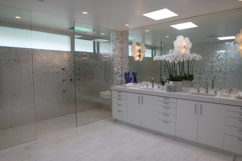 17 best images about powder room floor tile on pinterest grey walls marbles and master bathroom designs - Bathroom Floor Tile