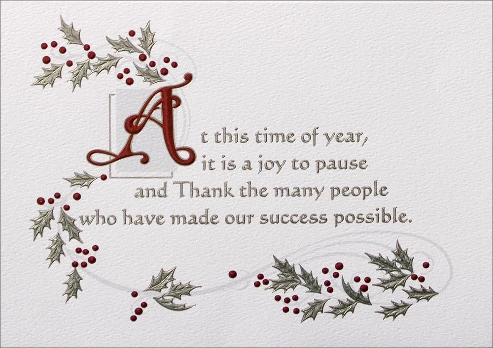 Customer Appreciation Christmas Cards | Card ideas | Pinterest ...