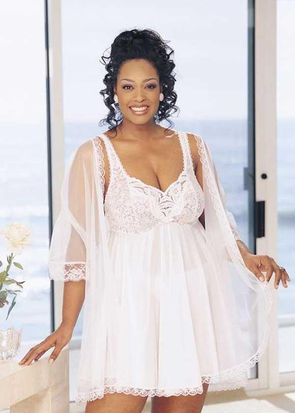 d73fc0e0259 Plus size bridal lingerie