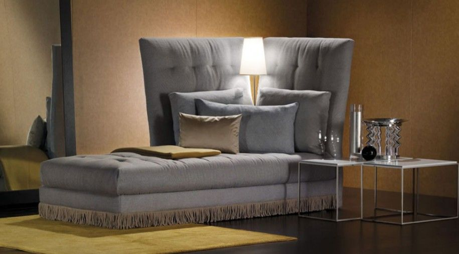 Gray Sleeper Sofa Bed Modern Italian Furniture Design