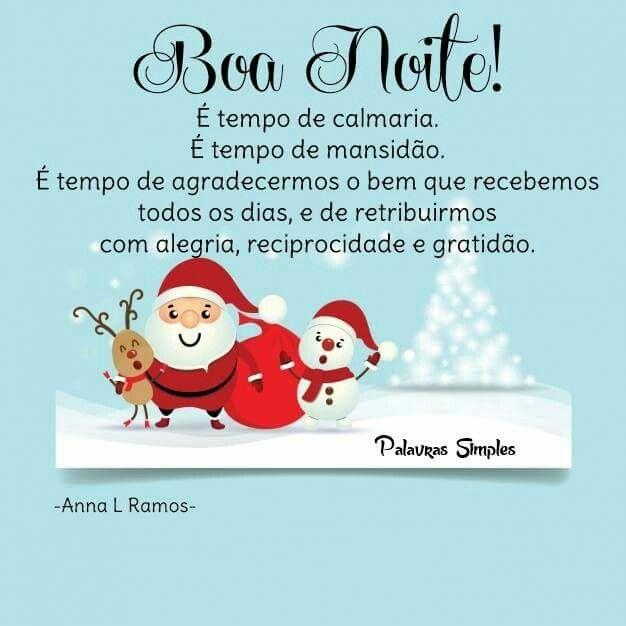 Boanoite Mensagem De Boa Noite Frase Feliz Natal E Frases