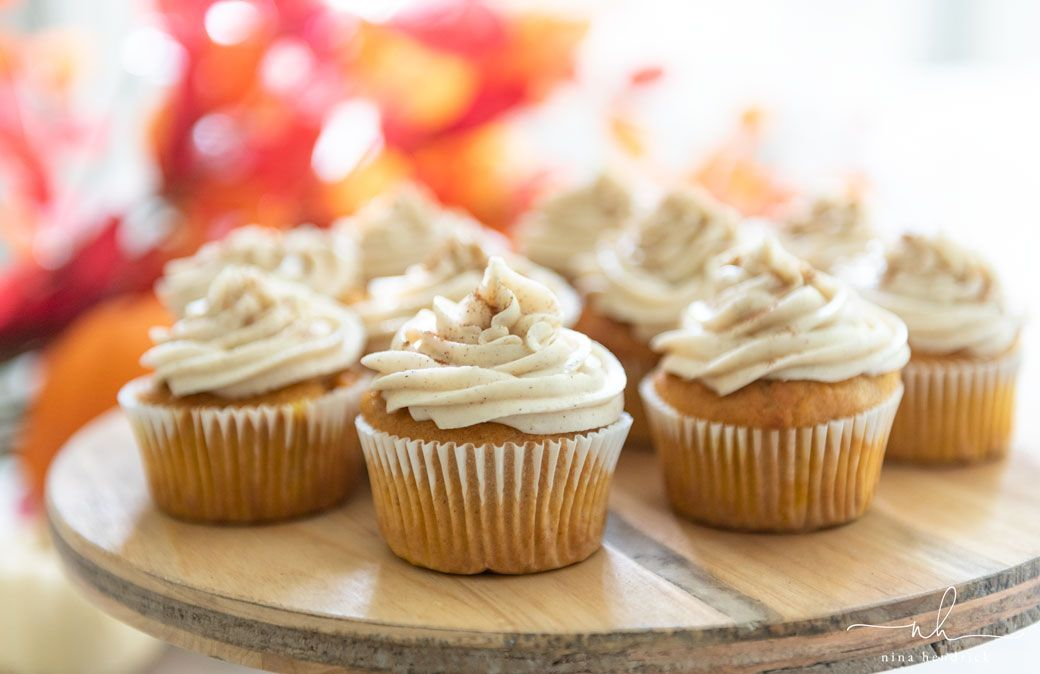 Pumpkin Spice Cupcakes with Cinnamon Cream Cheese Frosting | Get the recipe for these moist and delicious pumpkin spice cupcakes with cinnamon cream cheese frosting! #pumpkinspicecupcakes Pumpkin Spice Cupcakes with Cinnamon Cream Cheese Frosting | Get the recipe for these moist and delicious pumpkin spice cupcakes with cinnamon cream cheese frosting! #pumpkinspicecupcakes