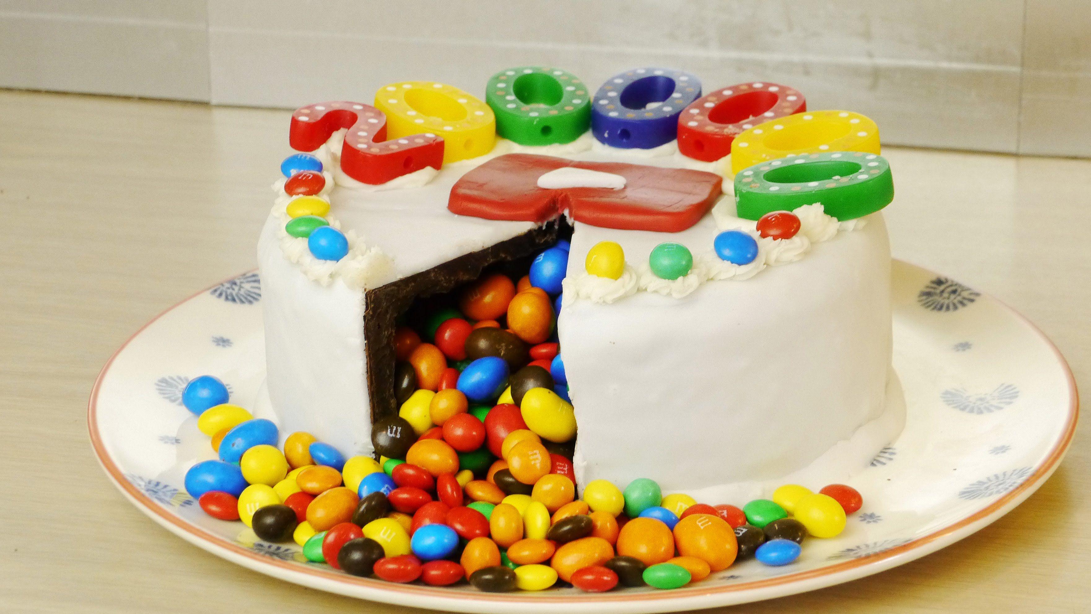 Chocolate Birthday Cake Surprise Food Hack Desserts Et