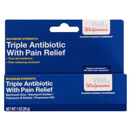 Triple Antibiotic Ointment | Products | Active ingredient