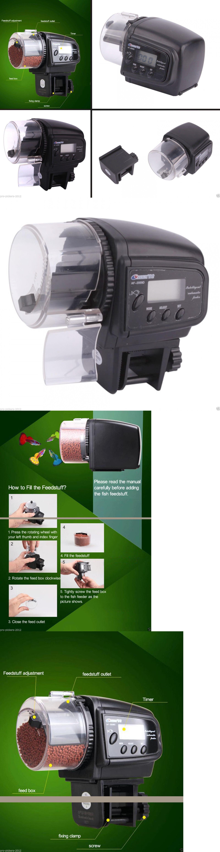 Fish tank feeder - Feeders 63034 Aquarium Fish Tank Accessories Automatic Timer Dry Flake Pellet Mini Food Feeder Buy