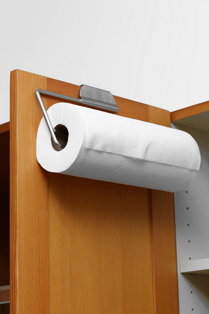 Over The Cabinet Paper Towel Holder Humble Abode Pinterest