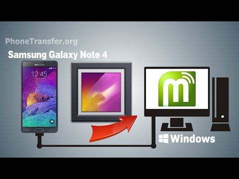 How To Backup Galaxy Note 4 Photos To Pc Transfer Photos From Samsung Note 4 To Computer Youtube Galaxy Note 4 Samsung Notes