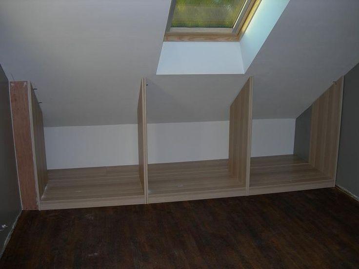 bildergebnis f r am nagement dressing mansard pinterest armoires attic and lofts. Black Bedroom Furniture Sets. Home Design Ideas
