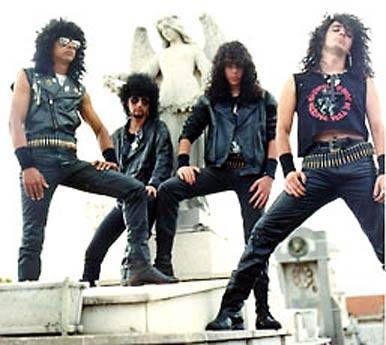 Sarcófago.  Black/Thrash/Death Metal from Brazil. Cult band!!