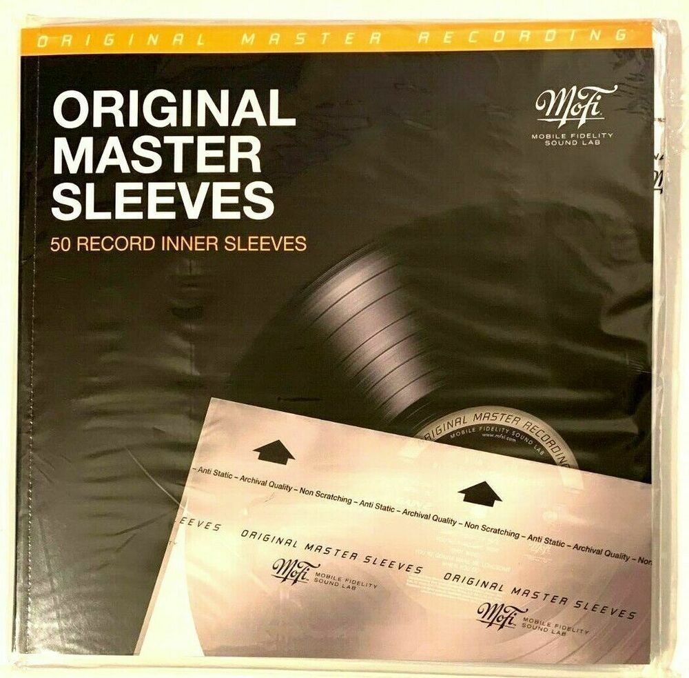 100 Mofi Original Master Recording Archival Record Sleeves 12 In Lps Vinyl Album Mofi In 2020 Vinyl Record Sleeves Vinyl Records Record Sleeves