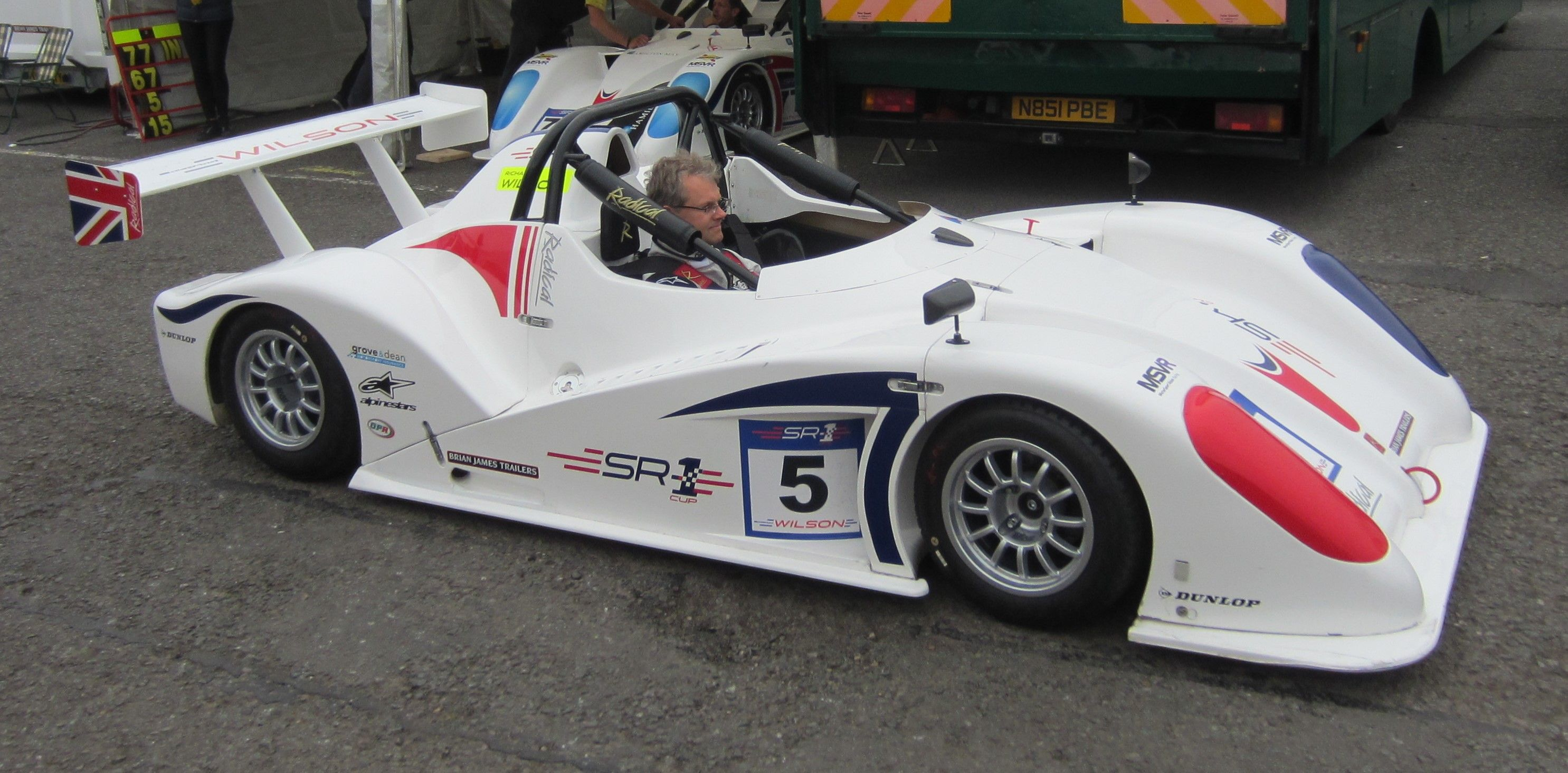 Radical SR1 Cup, Donington Park, 20th September 2014