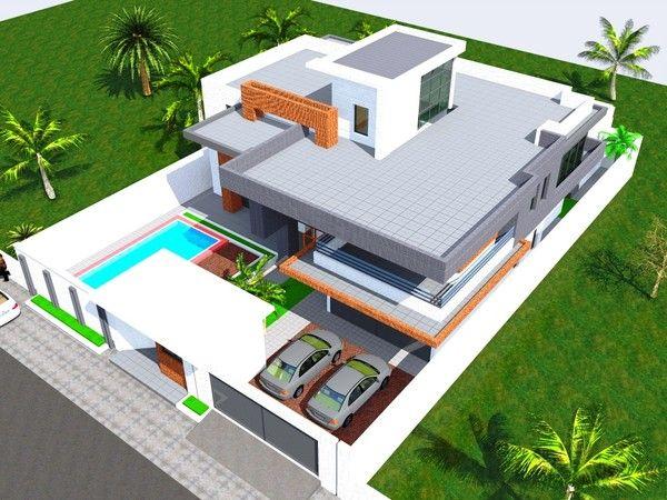 Projet De Construction D'Une Residence A Bamako Au Mali   Mconcept