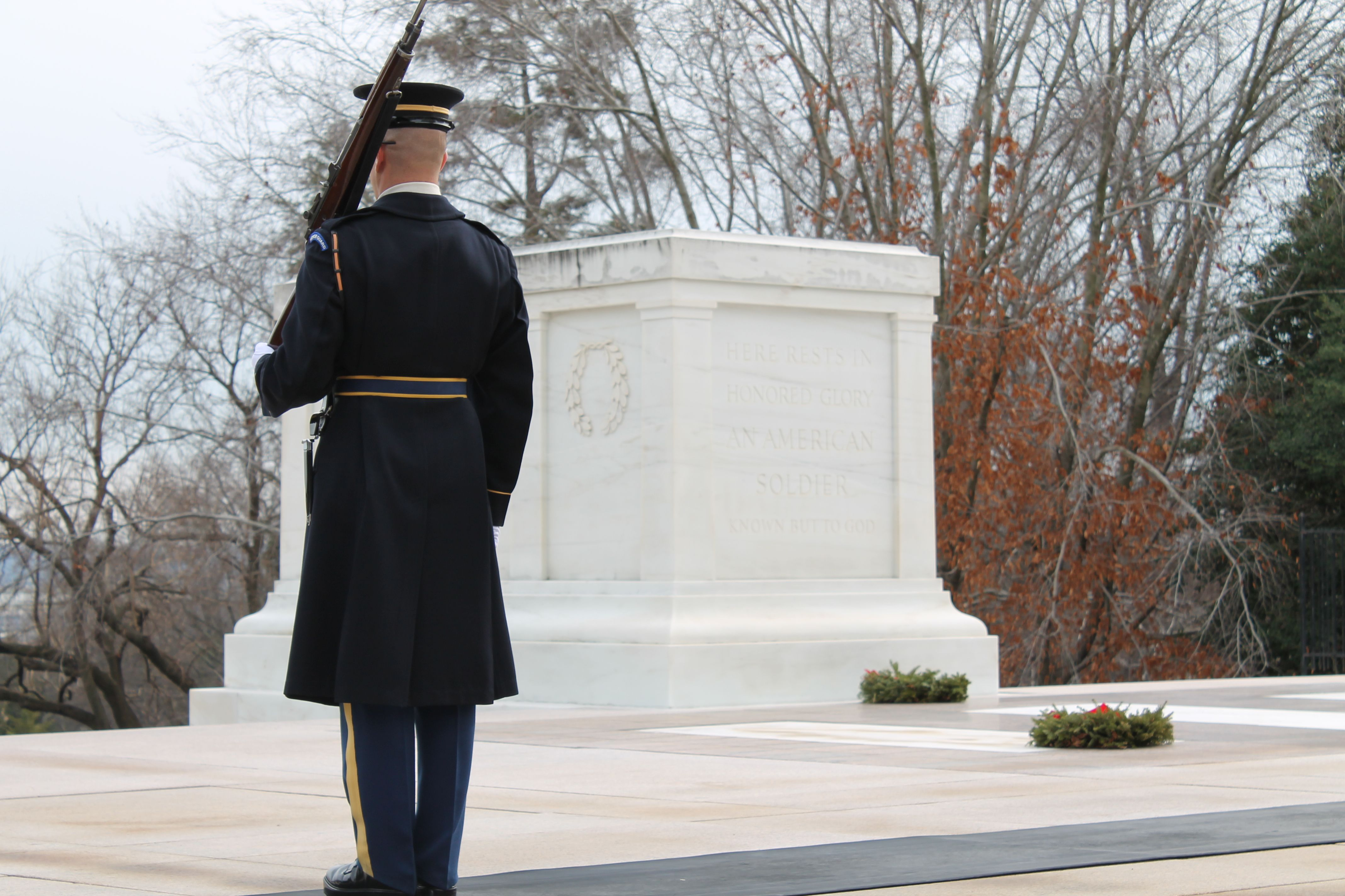 Guarding the Tomb I was able to see this on 1/20/2012. So moving.