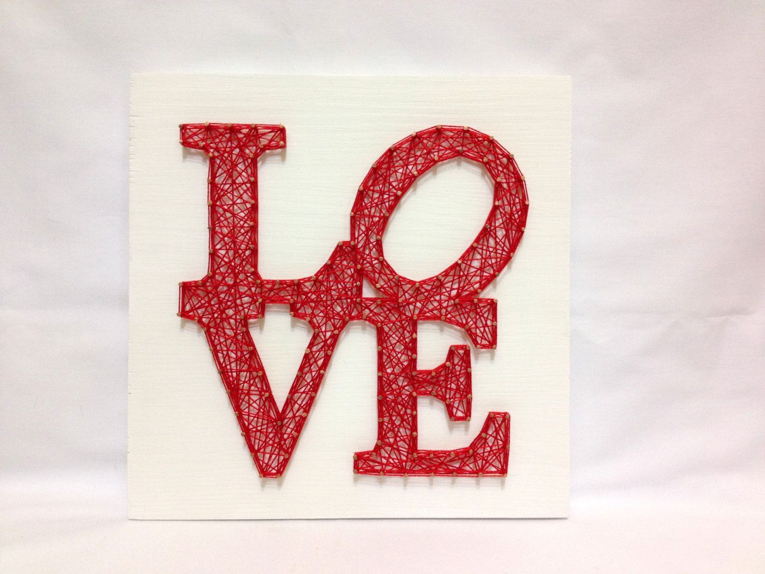 String Art Love Wall Art Love Sign Home Decor, Wall Decor