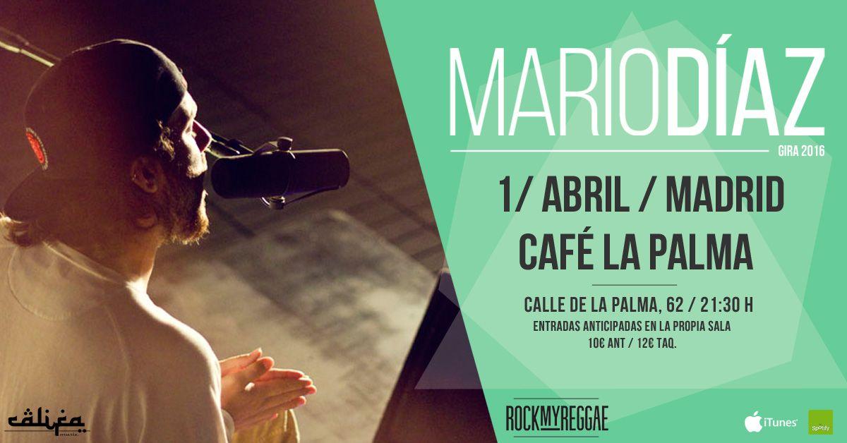 Concierto de Mario Díaz (ex Los Aslándticos) en Madrid