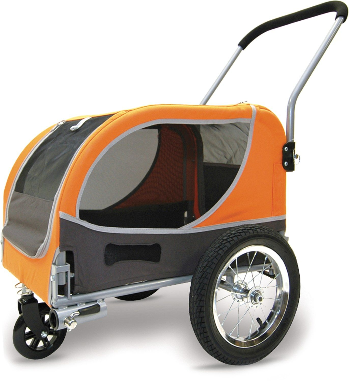 Croozer Mini Dog Bike Trailer Stroller Chassis at REI