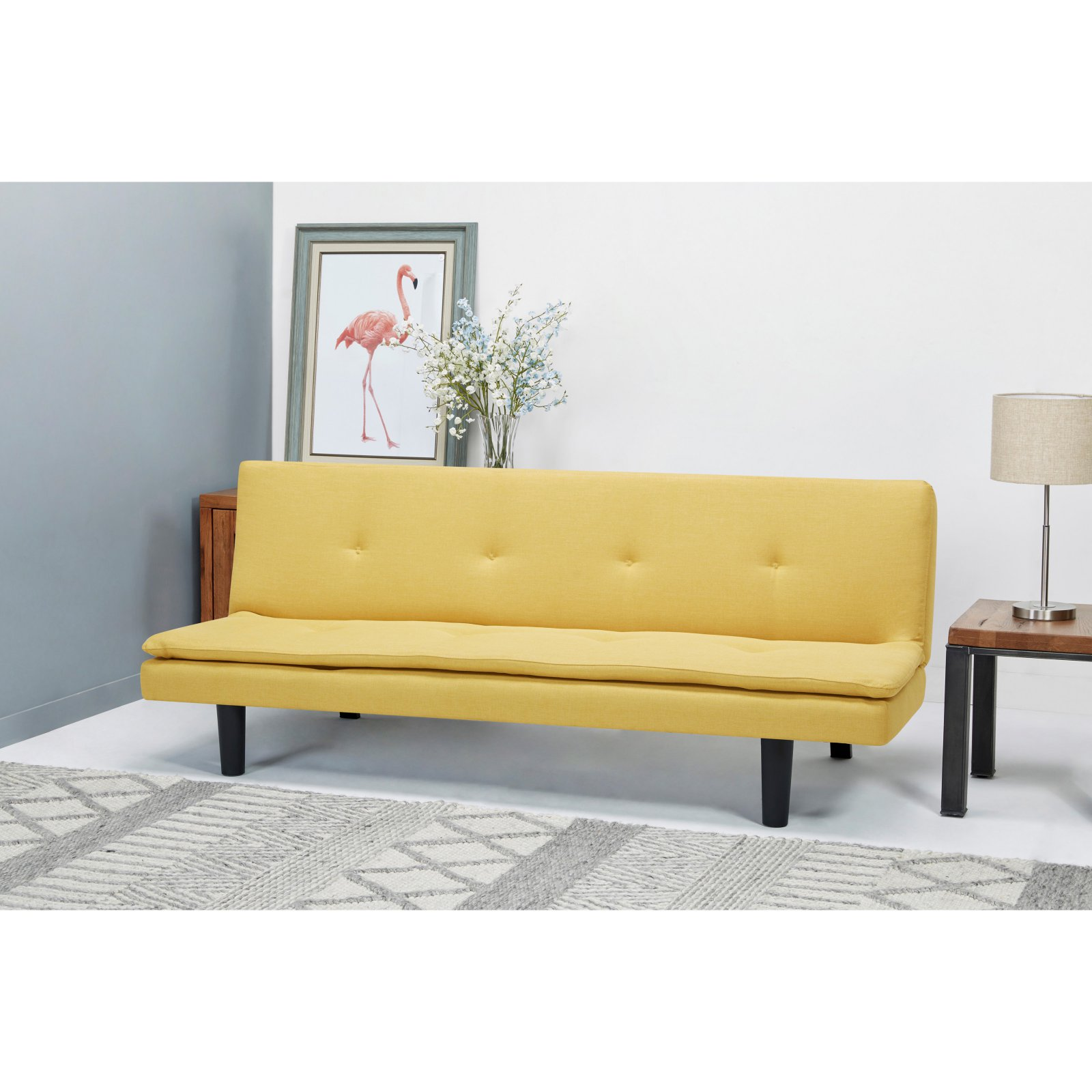 Gold Sparrow Arcadia Canary Convertible Sofa Bed Products