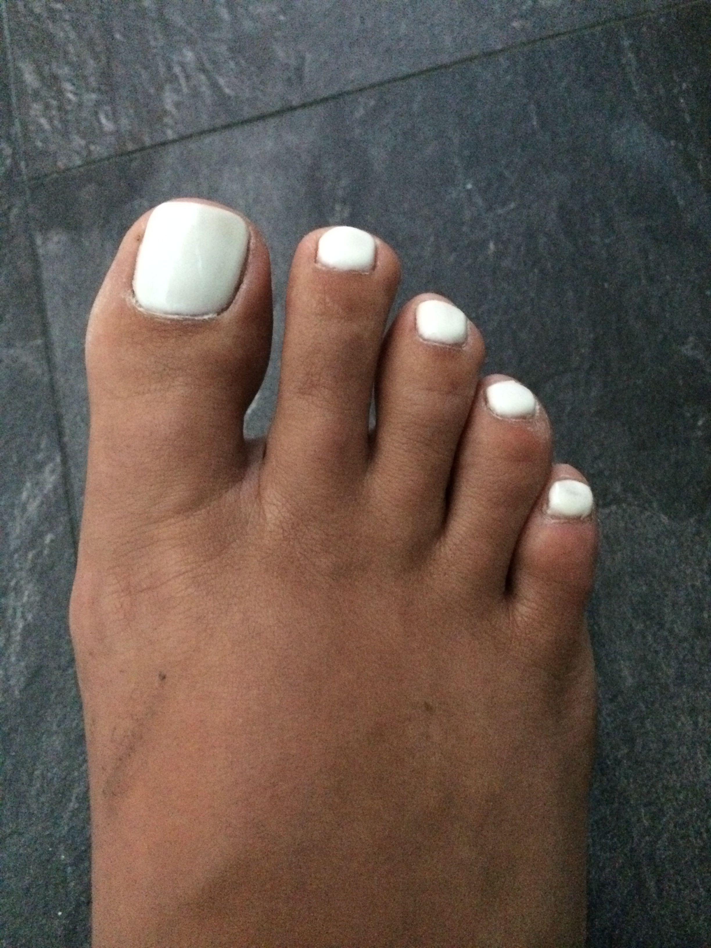 White Shellac Toes White Shellac Nails Plain White Nails White Shellac Nails Shellac Nails Shellac Toes
