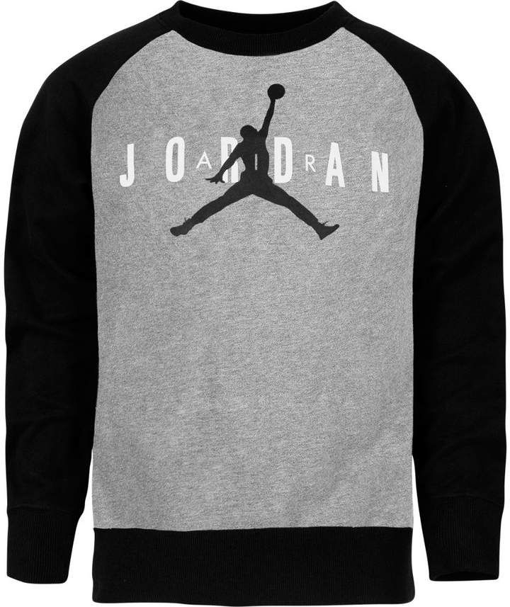 c22281904975 Nike Boys  Air Jordan Jumpman Crewneck Sweatshirt in 2019