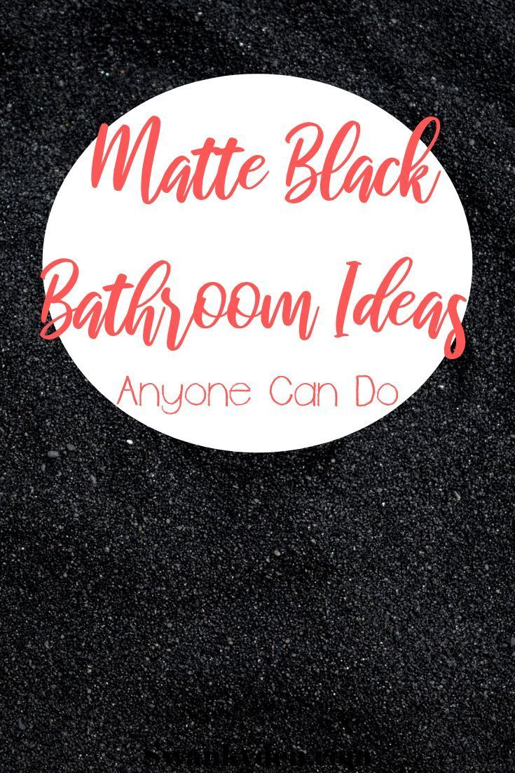 Photo of Must Have Matte Black Bathroom Fixtures – SwankyDen.com