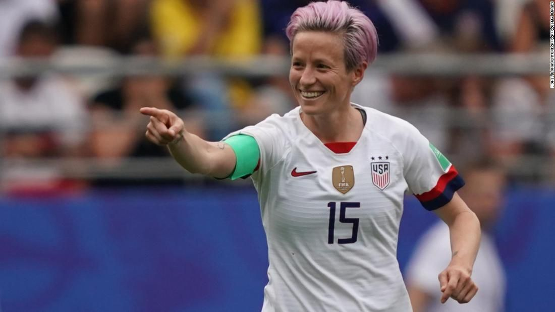 Us Vs Spain Uswnt Reaches Quarterfinals Of The Women S World Cup Megan Rapinoe Uswnt Women S World Cup