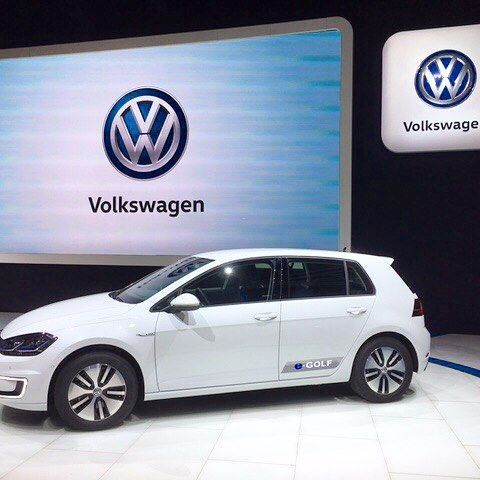 The 2017 E Golf Will Receive A Battery Upgrade That It Allow For An Nedc Rated Range Of 300 Km Miles On Single Charge