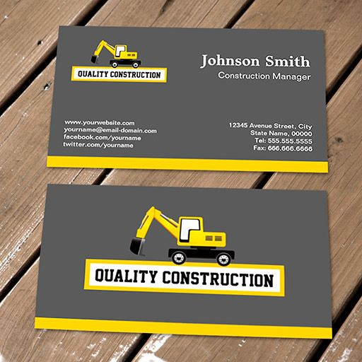 Create A Logo And Business Card For An Established General Contractor By Kasih Ibu Construction Logo Design Construction Business Cards Business Cards Layout