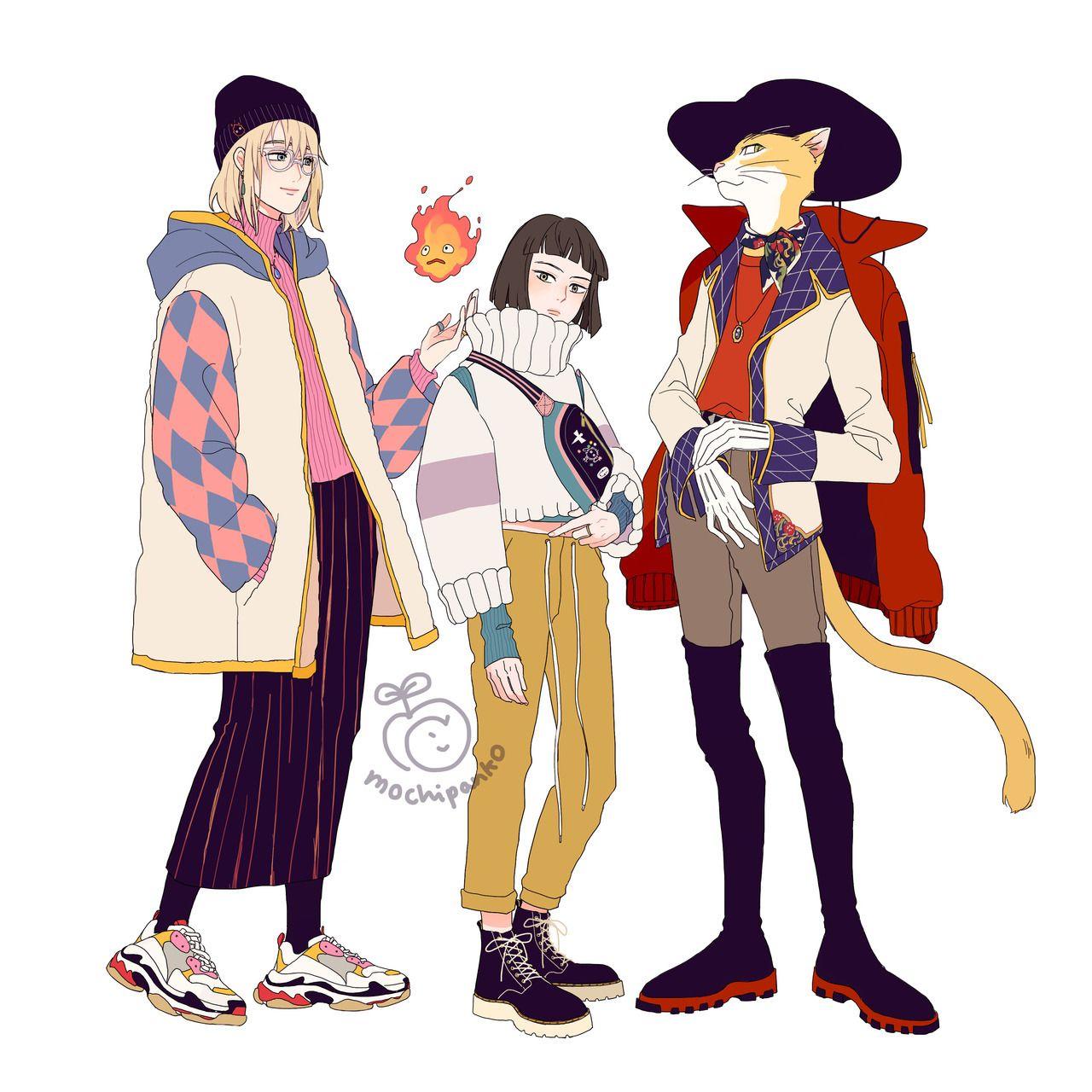 Photo of Ghibli fashion – Howl, Haku & the Baron
