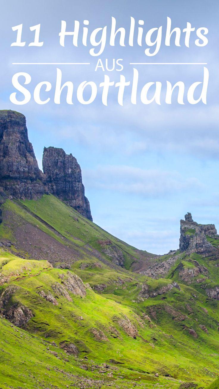 Meine 11 Highlights in Schottland #castles