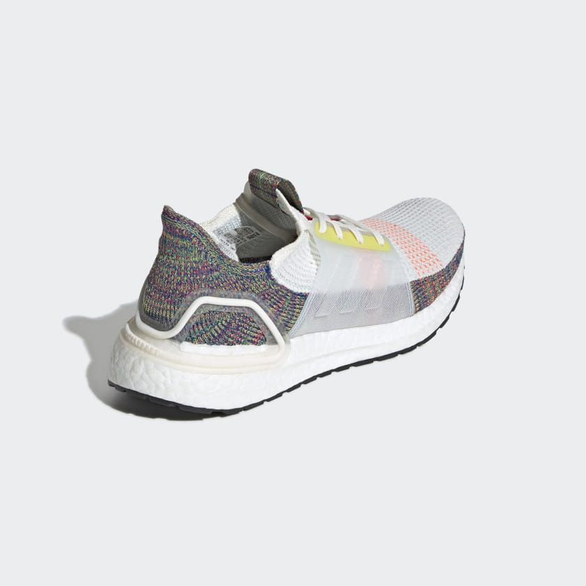 Chaussure Ultraboost 19 Pride Cloud White Scarlet Bright