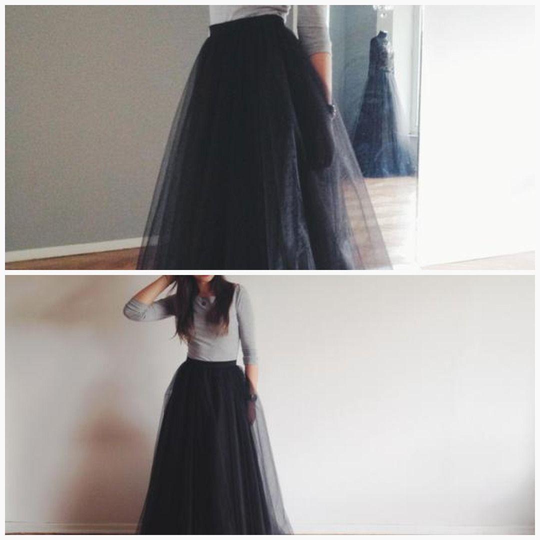 3b1ccfd0ec Black tulle maxi skirt #floral #bride #lace #white #organza #BlackTulle # skirt #wedding #MaxiTulleSkirt #tulle