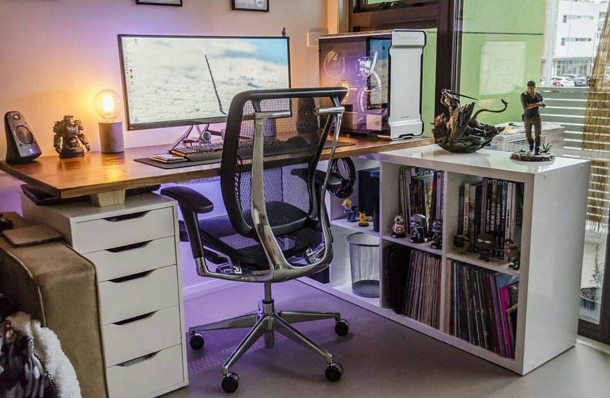 Decoration bureau gamer gallery of office desk setup ideas