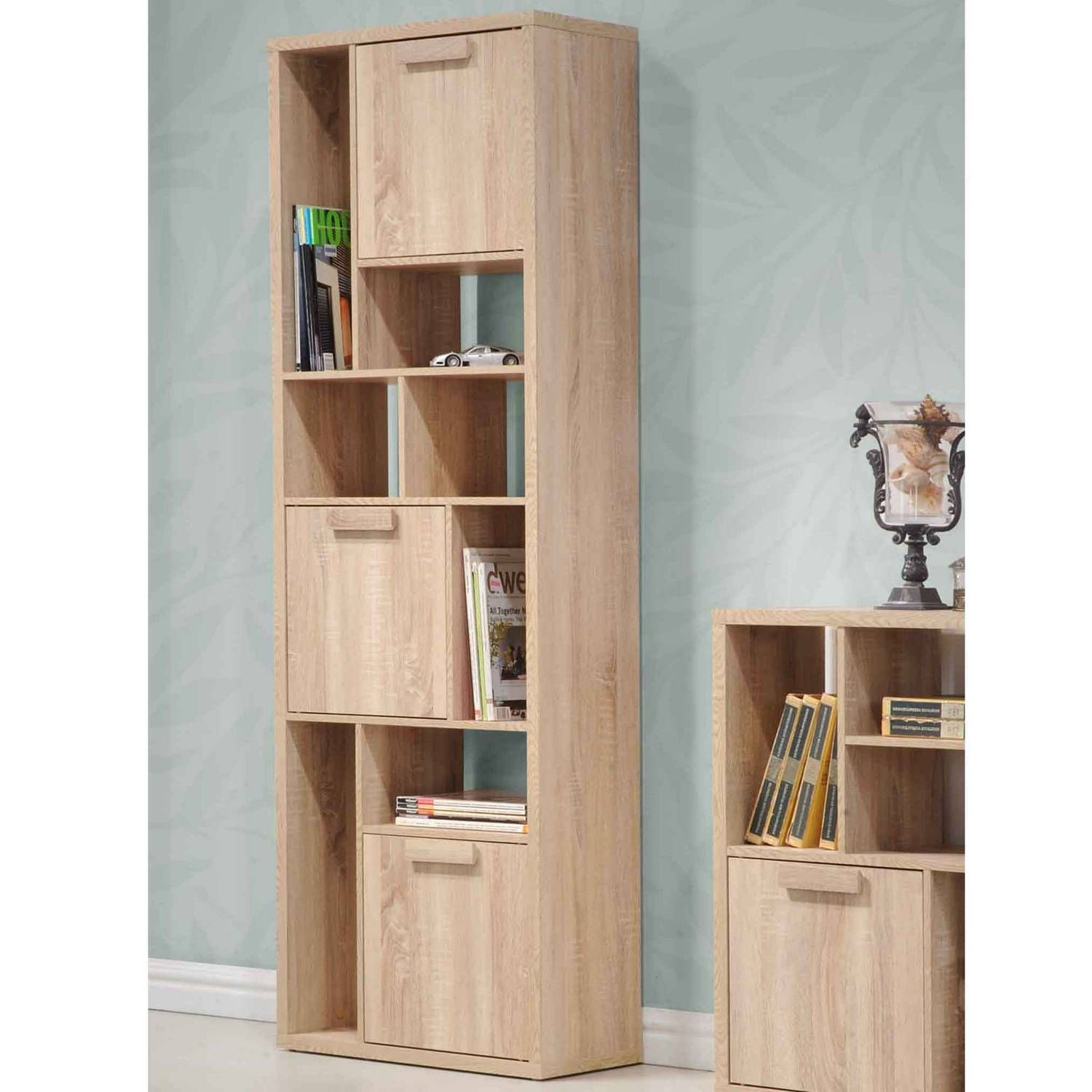 The Range Living Room Furniture Apollo 3 Door Shelf Unit Furniture The Range House