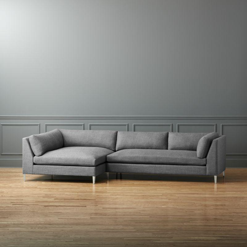 modern sectional sofas sectional couches cb2 meleebug how rh pinterest com CB2 Avec Sofa CB2 Inspired Sofa