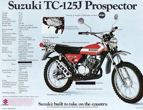 Suzuki 125 Enduro