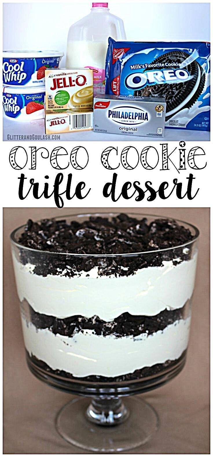 Oreo Cookie Trifle