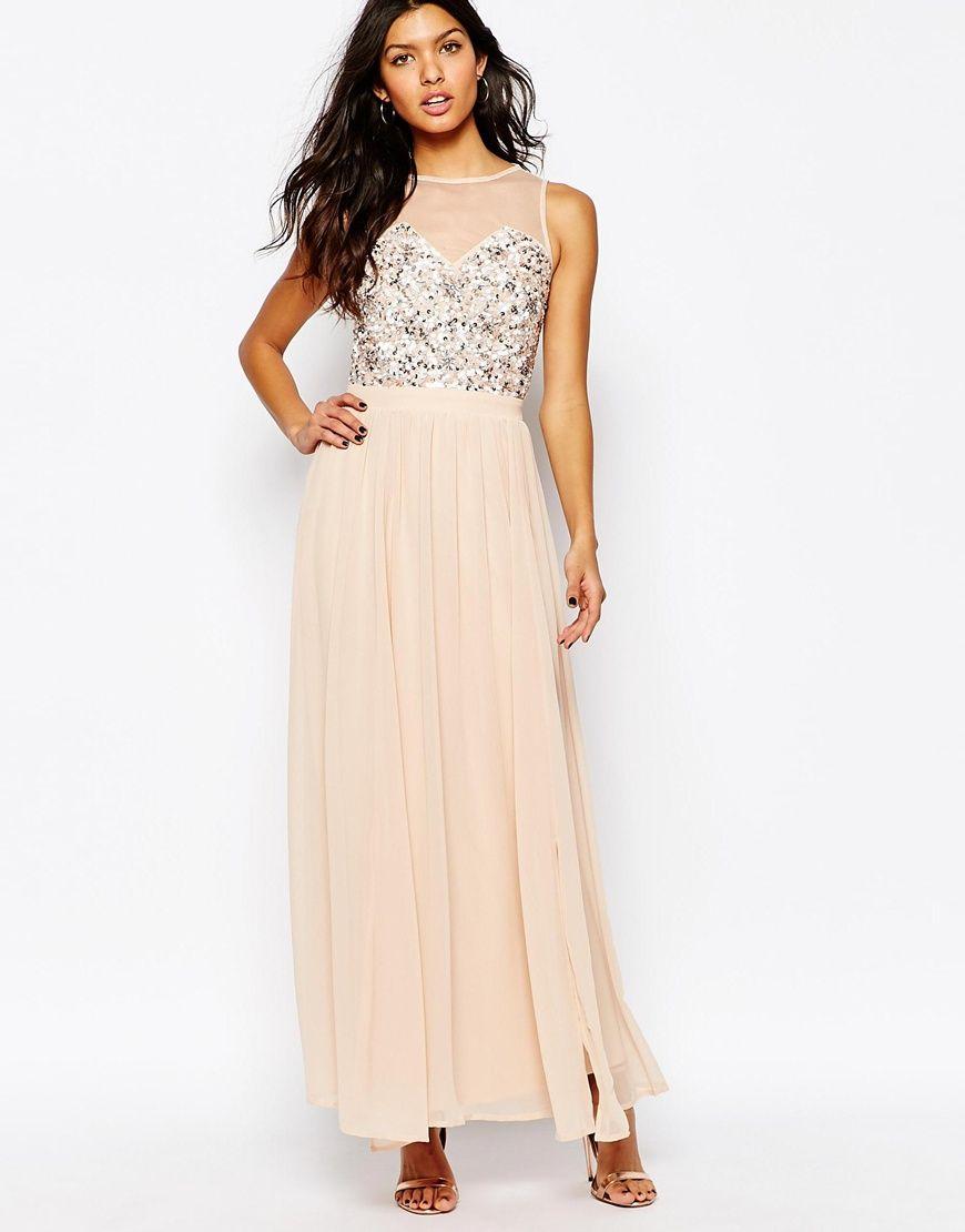 River Island Embellished Bodice Maxi Dress | bridesmaid dress ...