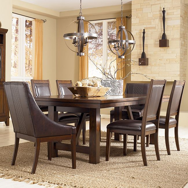 Dining Room Extension Table Signature Designashley Holloway Brown Dining Room Extension