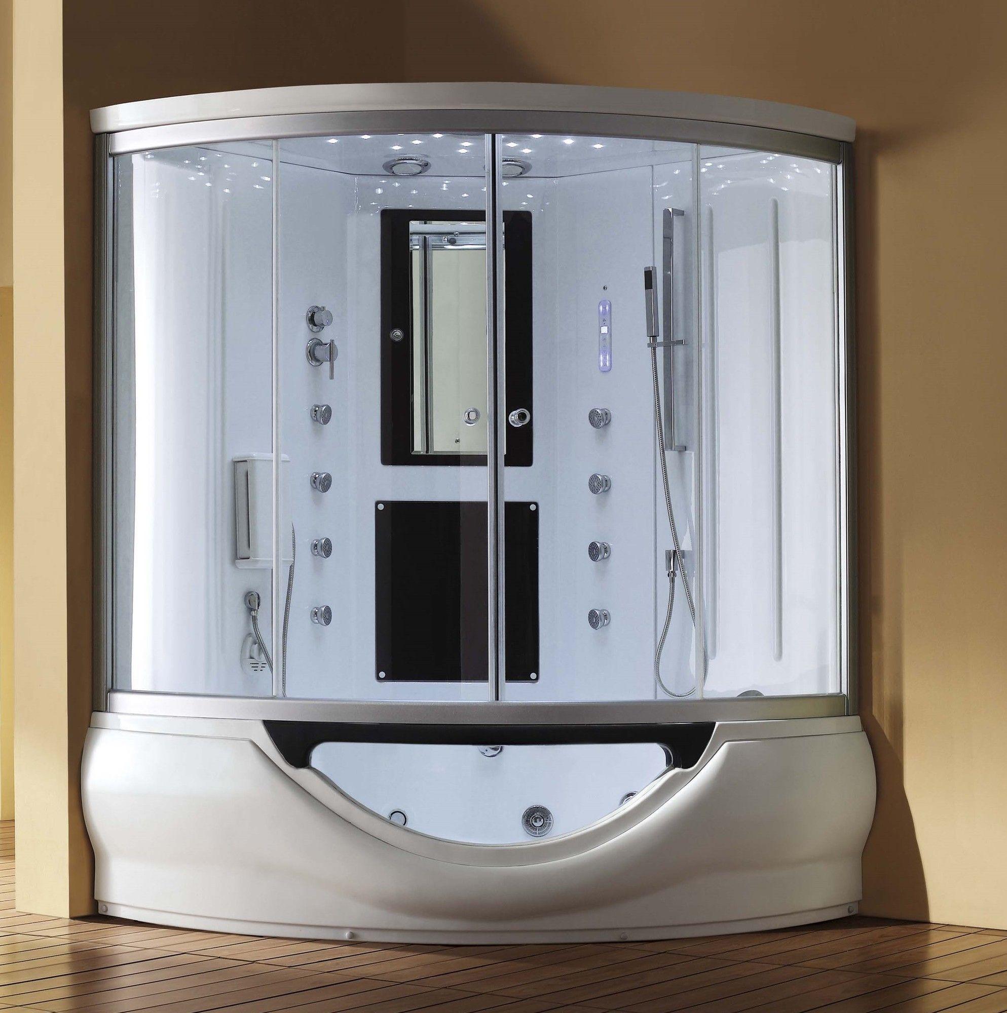Presenting the Eagle Bath Sliding Door Steam Shower Enclosure Unit ...