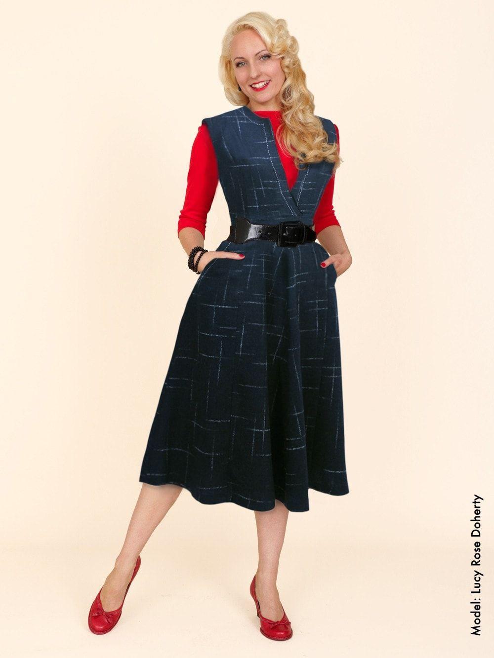 Flannel outfits for women  ssVivienofHollowayBestVintageStyleReproductionLaura