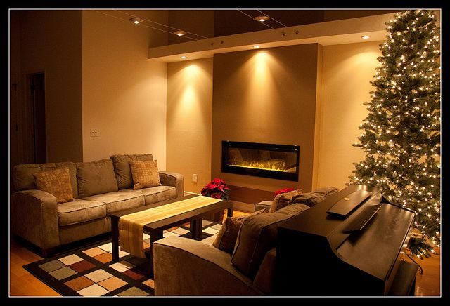 Electric fireplaces and Basements