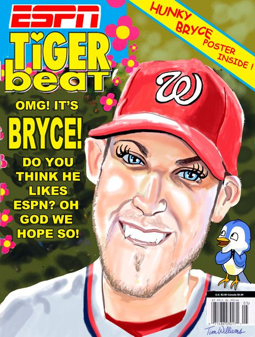 What Espn Really Thinks Of Bryce Harper By Timwilliamsart