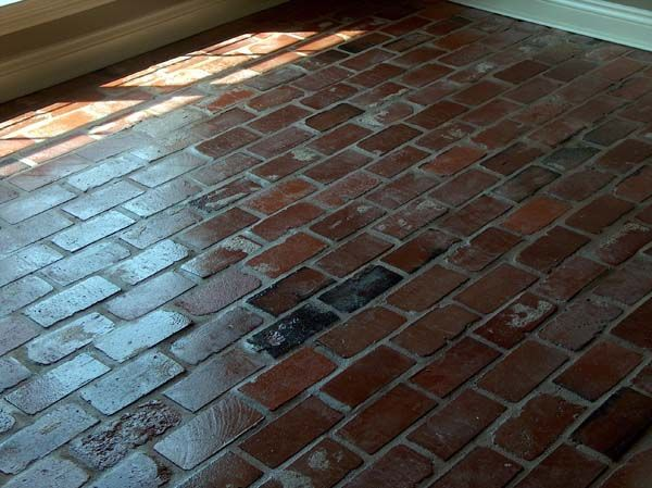 brick floor tile and old st louis