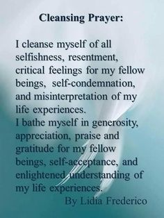 sage cleansing prayer - Google Search   Letters That Make