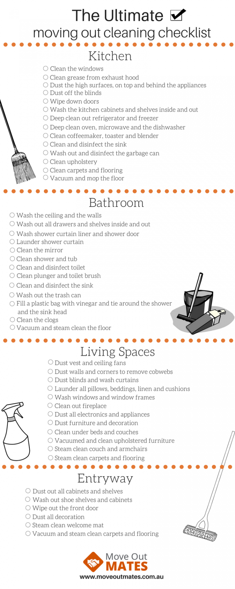 Moving Out Checklist End Of Lease Cleaning Checklist Moving Out Checklist Move Out Cleaning House Cleaning Checklist