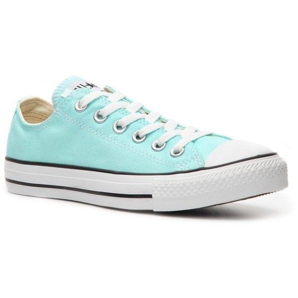 60e35cc2 Converse Women's Chuck Taylor All Star Sneaker - Blue, found on  polyvore.com.