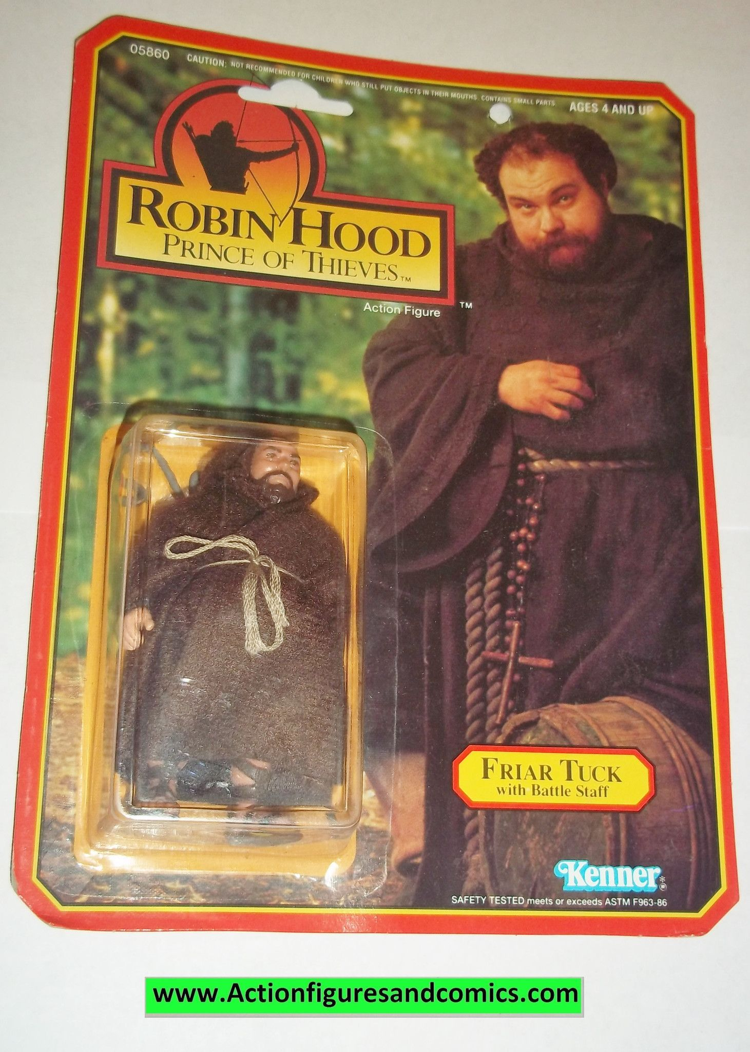 Friar Tuck SEALED Robin Hood Prince Of Thieves Figure